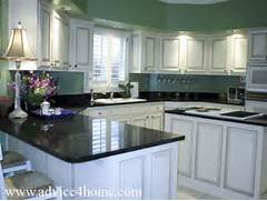 Kitchen Cabinets And Counters White Kitchens With Black Cabinets And Countertops