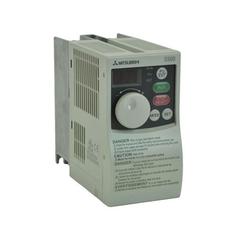mitsubishi variable frequency drive 1hp 230v mitsubishi vfd inverter ac drive fr s520 0 75k na