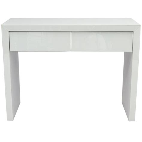 white and glass desk white glass dressing table french furniture from