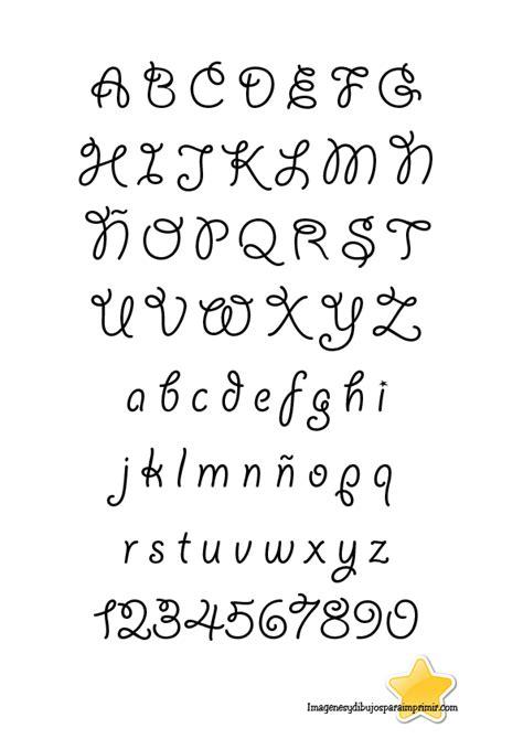 abecedario letras bonitas escribir a mano buscar con notebook