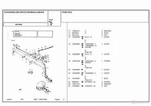 Landini 8500 Accessories And Application Miscellaneous