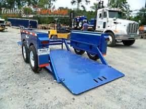 2015 hgl10612 hydraulic drop deck scissor lift trailer 6 x 12 ebay