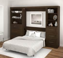 bestar deluxe wall unit bed 26850 69