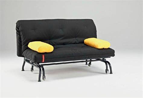 canapé lit bz canap 201 lit bz loop noir design clic clac convertible 200 140