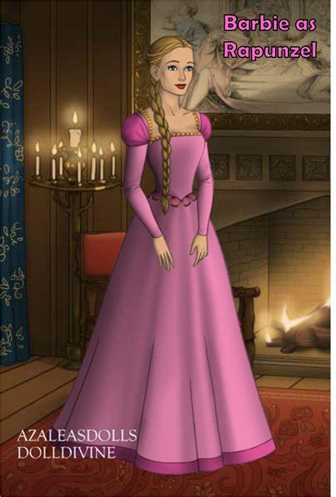 barbie  rapunzel  barbie movies fan art
