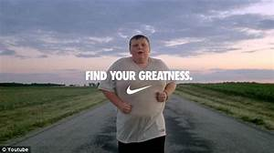 Find Your Greatness advert: Story behind 200lb jogging boy ...