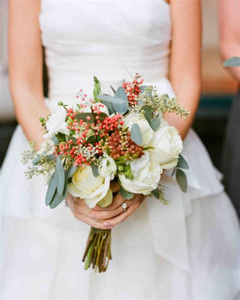 Wedding Bouquets by 52 Gorgeous Winter Wedding Bouquets Martha Stewart Weddings