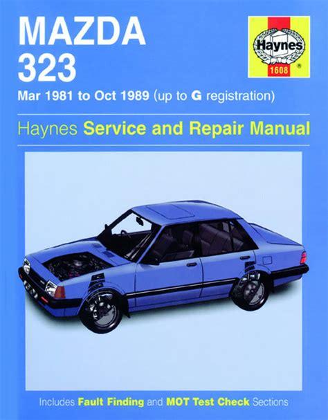 motor auto repair manual 1995 mazda 323 auto manual mazda 323 mar 81 oct 89 haynes repair manual haynes publishing