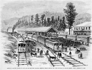 Malvern: Railroad Station Drawing - Encyclopedia of Arkansas