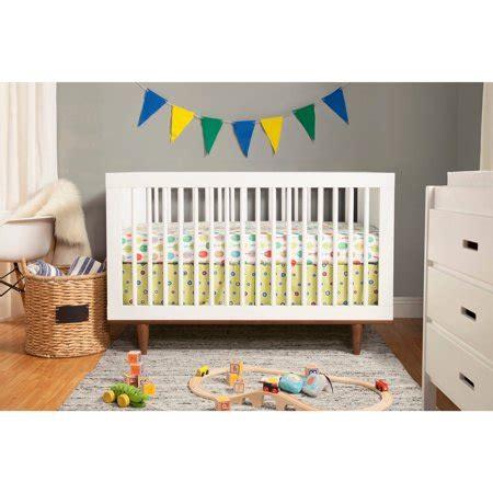 baby crib walmart baby mod marley 3 in 1 convertible crib white and walnut