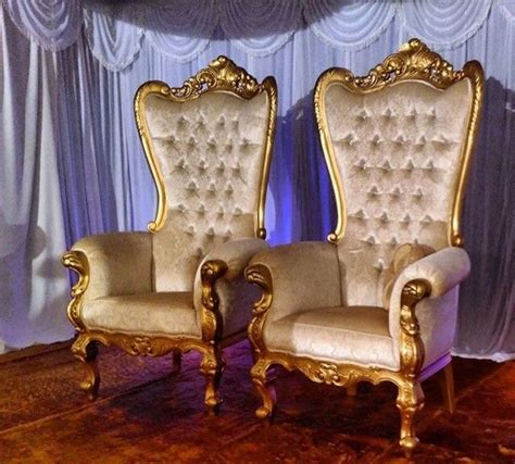 venue styling decor hire royal chair throne chair