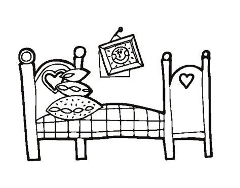 coloriage chambre coloriage de chambre à coucher pour colorier coloritou com