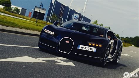Bugatti Chiron Spotted Up Close In Germany