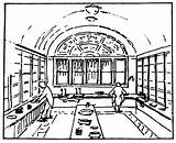 Pantry Butlers Butler Victorian Drawing Getdrawings Victoriana Magazine sketch template