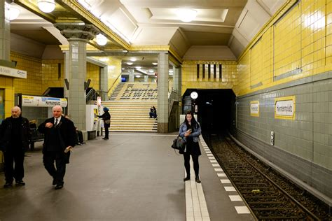 überseequartier U Bahn by Berlin U Bahn