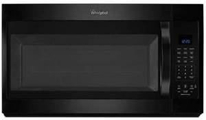 Whirlpool Wmh32519fb 1 9 Cu  Ft  Over