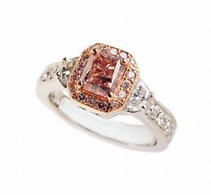 Pink diamond princess cut ring engagement rings pinterest for Princess cut pink diamond wedding rings