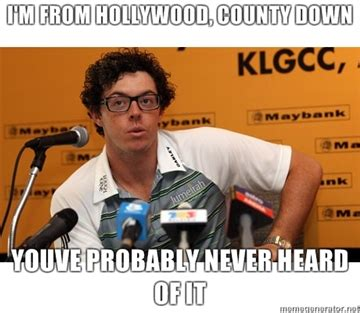 Rory Meme - reconsidering the rory mcilroy hipster meme balls ie