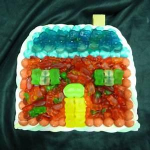 Gateau En Forme De Maison : g teau de bonbons maison boule de gomme ~ Nature-et-papiers.com Idées de Décoration