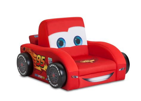Delta Children Cars Shaped Deluxe Upholstered Chair