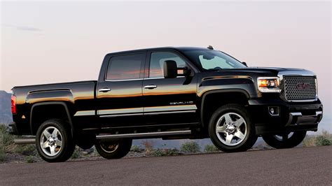 Gmc 2500hd Wallpaper by Gmc Denali 2500 Hd Crew Cab 2015 Wallpapers And
