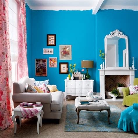 bright colors for living room how to use bright colors to decorate the home interior designing ideas
