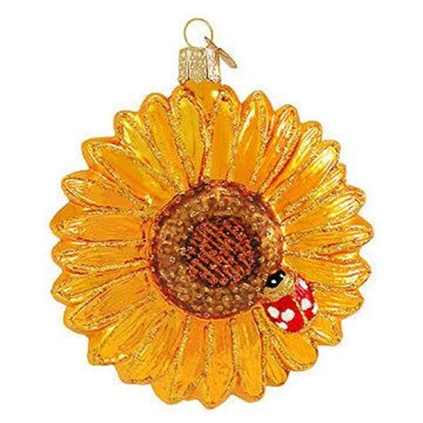 sunflower christmas tree ornaments webnuggetz com