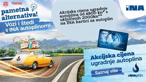 INA i Auto Silvio pokreću akciju ugradnje plinske ...