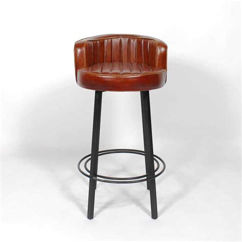 tabouret de bar industriel 171 diner 187 made in meubles