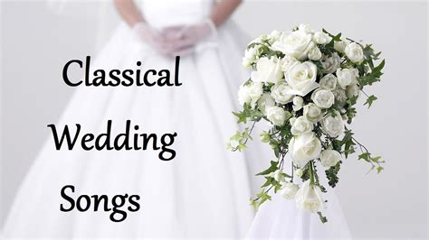 You will often hear your music wedding vendors ask you what your processional ceremony songs are. Classical Wedding Songs for Walking Down the Aisle - Wedding Songs Instrumental - YouTube