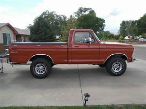1976 Ford F100 Custom Explorer 4x4 Short Bed F150 For Sale