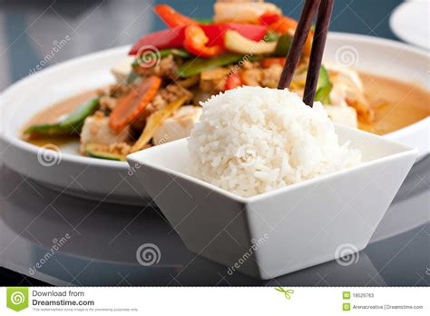 rice cuisine food and rice stock photos image 18529763