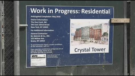 crystal tower housing development nears completion