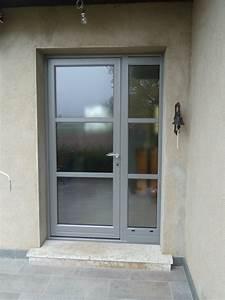 porte d entree vitree pvc dootdadoocom idees de With porte d entrée pvc avec cloison vitrée salle de bain