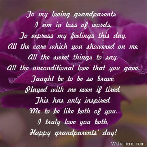 loving grandparents poem  grandparents day