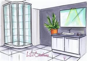 comment dessiner une douche With dessiner sa maison 3d 16 comment dessiner une douche