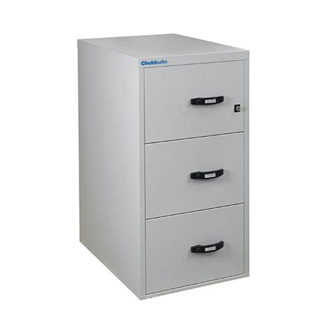 Fire Resistant Filing Cabinet by Chubbsafes Profile 3 Drawer Filing Cabinet Fireproof