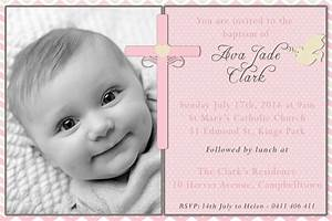 Baptism Invitation For Boys : Christening Invitation For ...