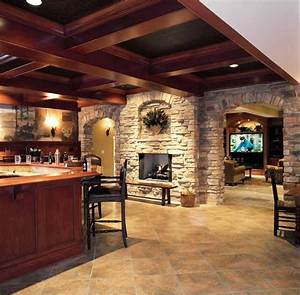 basement fireplace 2357