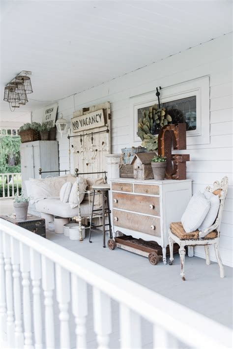 Late Summer Farmhouse Porch Liz Marie Blog