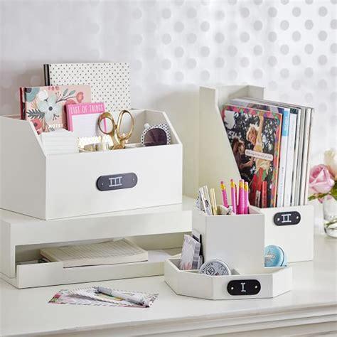 desk organizer for women wooden desk accessories pbteen