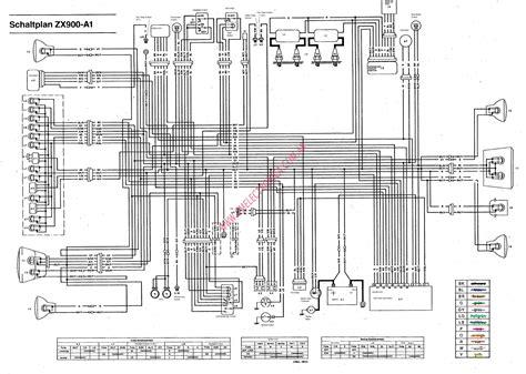 Free Wiring Harness Layout Diagram For Kawasaki Fixya