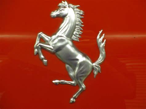 ferrari horse wallpaper ferrari horse logo silver
