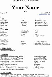 acting resume beginner http wwwresumecareerinfo With how to make a resume for beginners