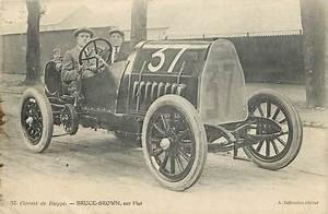 Fiat Dieppe : cpa automobile circuit de dieppe bruce brown sur fiat themes automobile ref 10435 ~ Gottalentnigeria.com Avis de Voitures