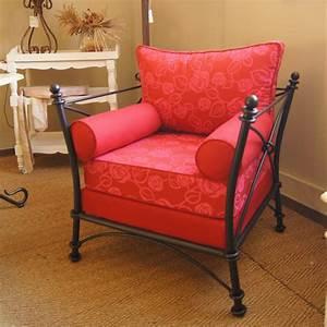 Fauteuil Fer Forgé : fauteuil en fer forge maison design ~ Teatrodelosmanantiales.com Idées de Décoration