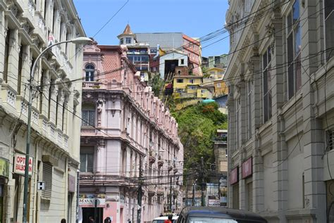 colorful city  valparaiso chile sidetracked