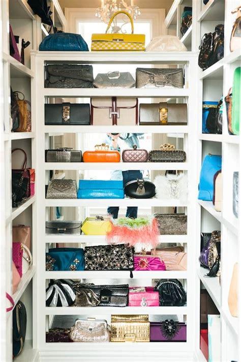 Purse Closet by Handbag Closet Contemporary Closet The Coveteur