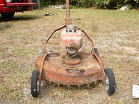 Help With Old Craftsman Push Mower Info
