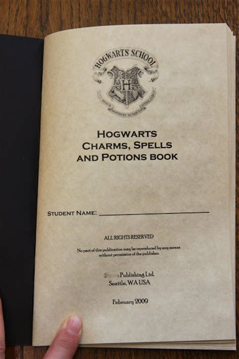 Spell Anticipate by My Harry Potter The Hogwarts Charms Spells And